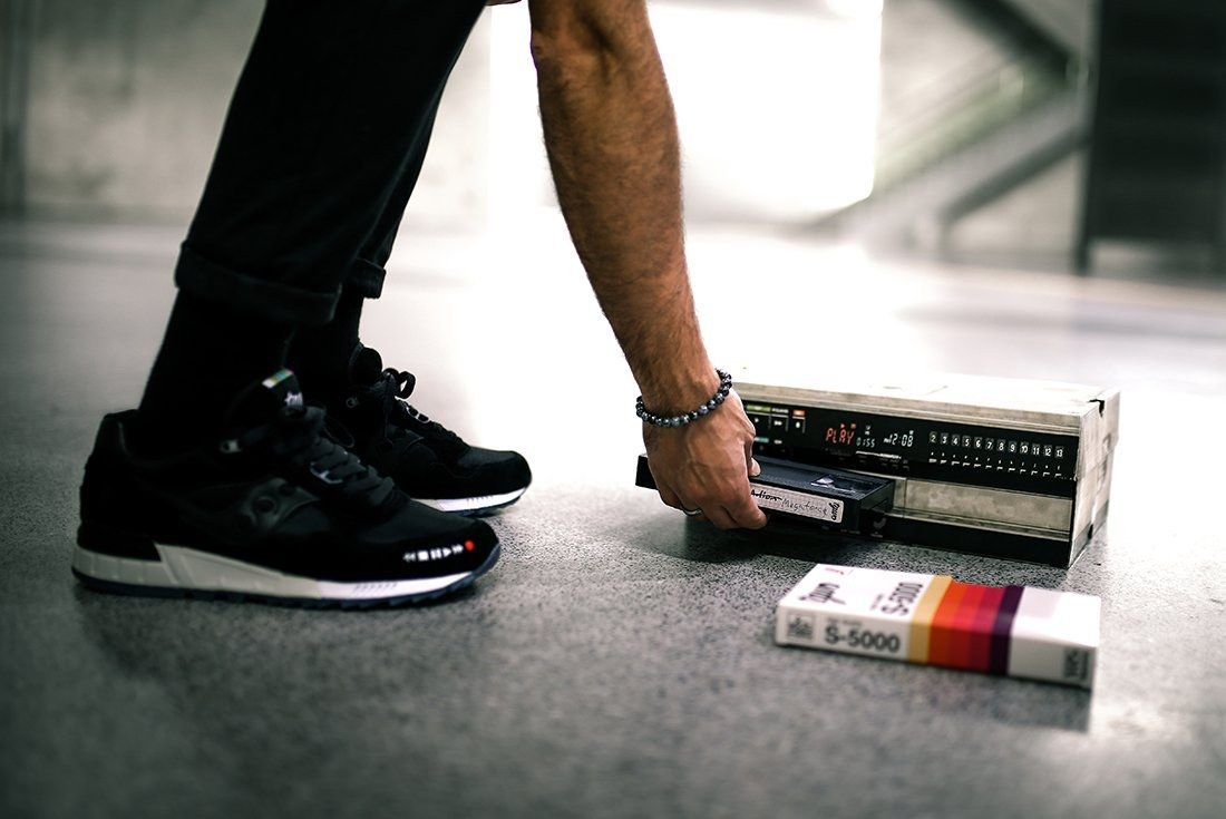 The Good Will Out X Saucony Shadow 5000 Vhs29