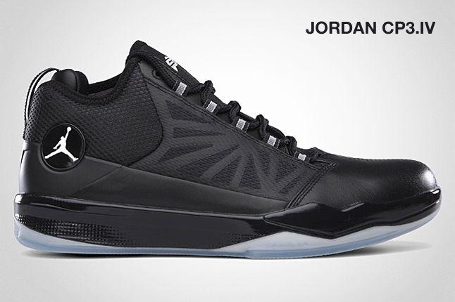 Jordan Cp3 Iv Black 1