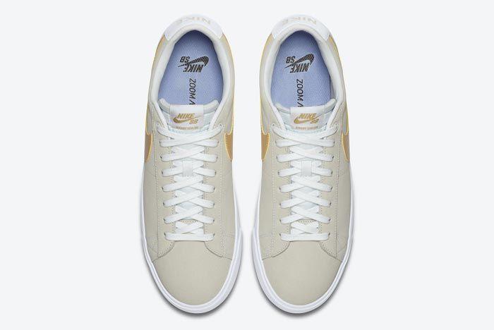 Nike Sb Blazer Low Gold Top