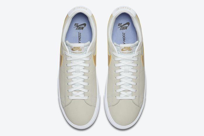 Nike Sb Blazer Low Gold Top