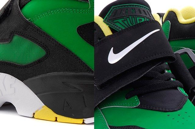 Nike Air Diamond Turf Oregon Ducks 4