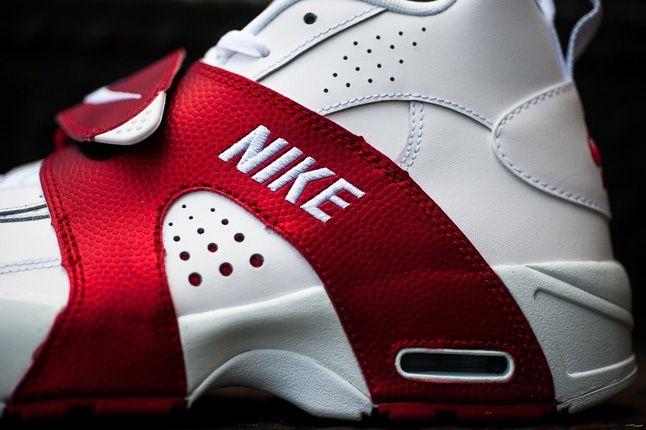 Nike Air Veer Red Midfoot Profile