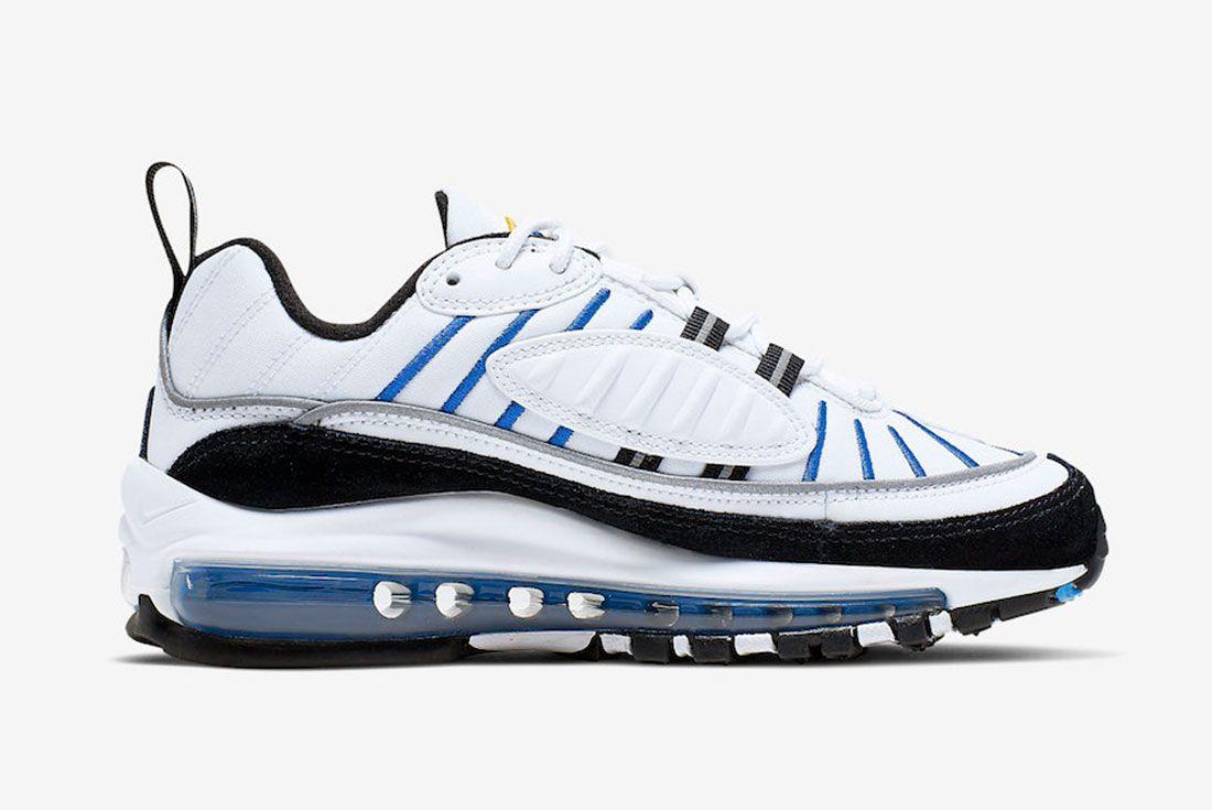 Nike Air Max 98 Gs Cj7393 100 Release Date 2 Side