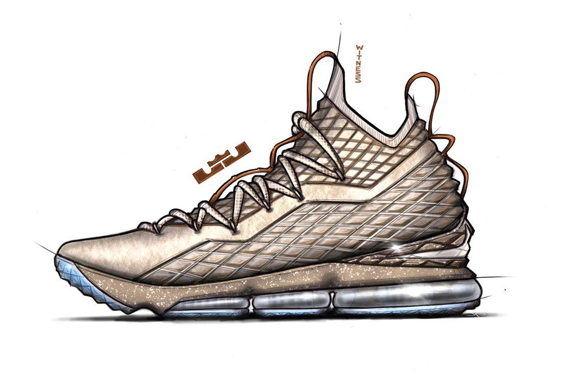 Material Matters Basketball Lebron 15 Design 1