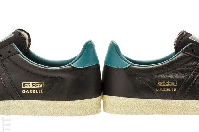 Adidas Gazelle Og Soft Gold Teal 3