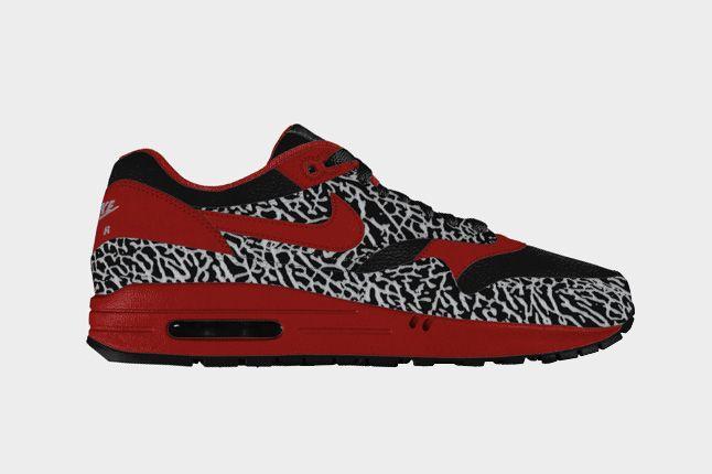 Elephant Print Option For Air Max 1 On Nike Id 1