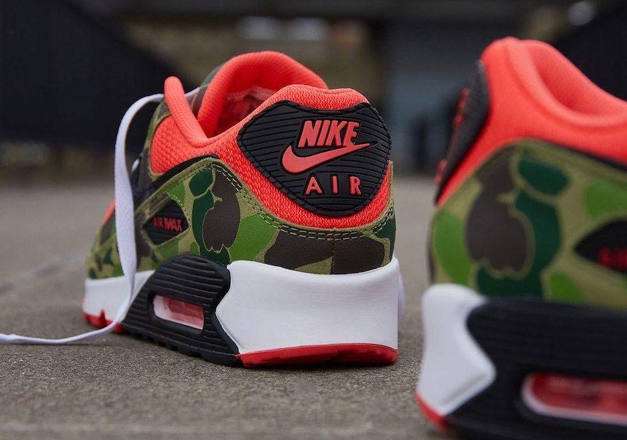 Nike Air Max 90 Duck Camo Heel