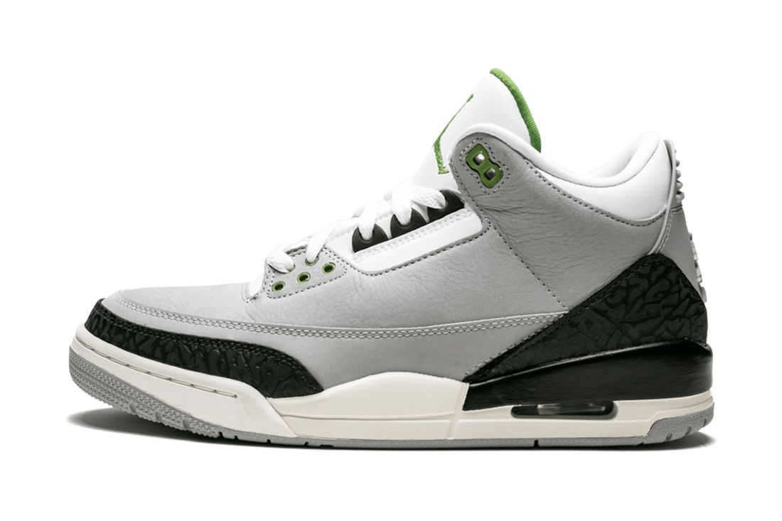 Chlorophyll Air Jordan 3 Best Feature