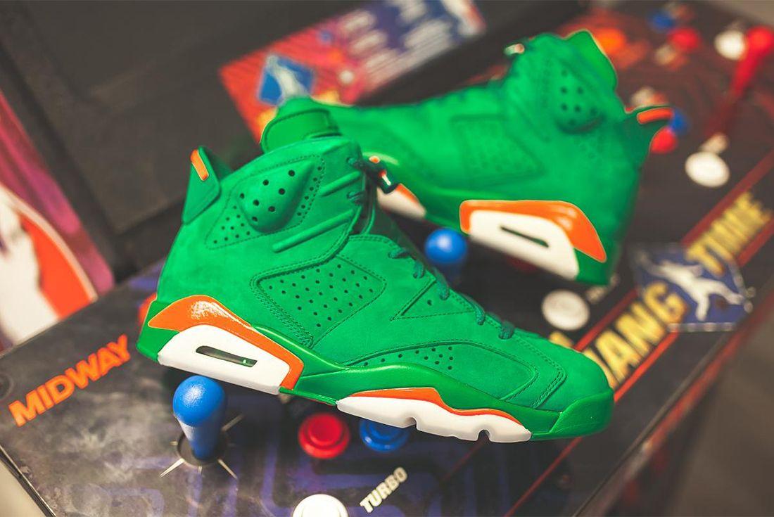 Gatorade X Air Jordan 6 Pine Green Release Date Sneaker Freaker 3