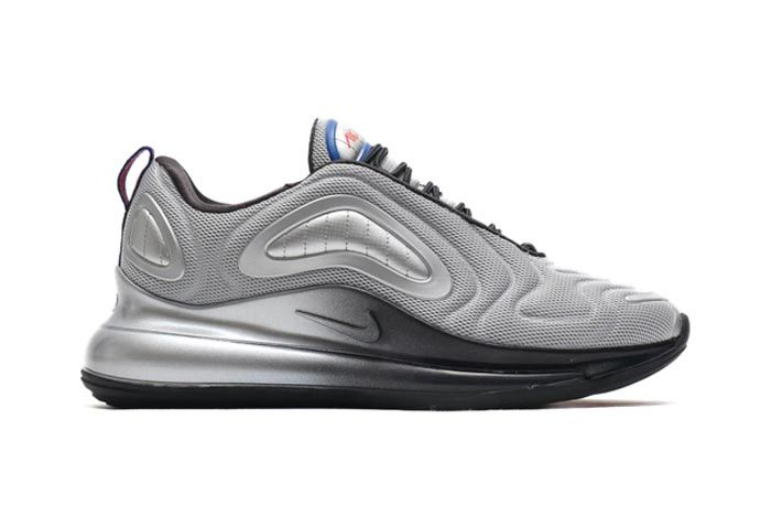 Nike Air Max 720 Metallic Silver Cosmic Clay Lateral