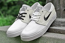 Nike Sb Zoom Stefan Janoski Canvas Grey White Thumb