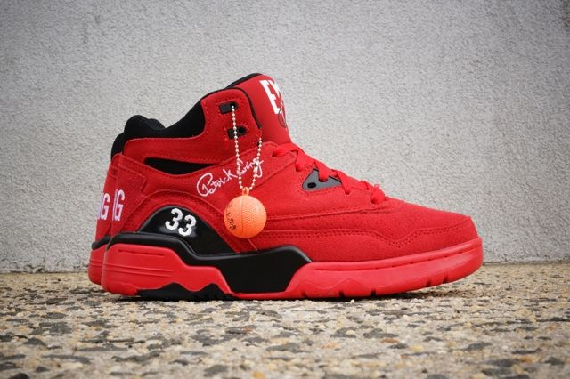 Ewing Guard Red Suede 2