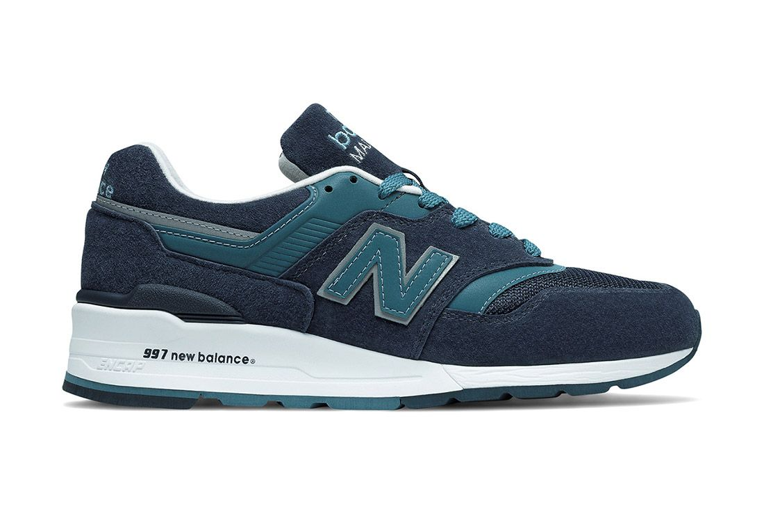New Balance Made In Usa Connoisseur 997 Blue 3