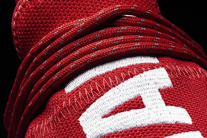 Pharrell Williams X Adidas Hu Nmd Red4