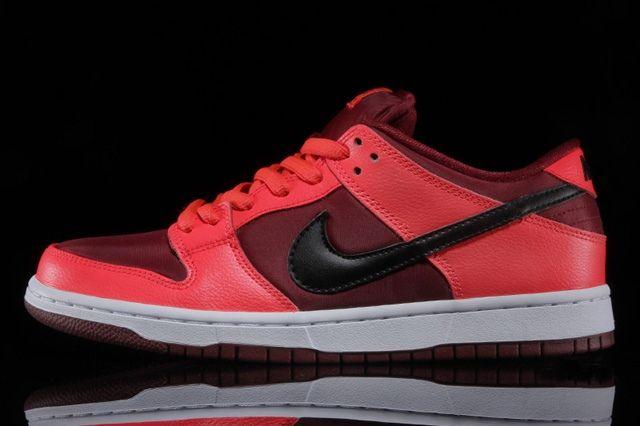 Nike Sb Dunk Low Laser Crimson 1