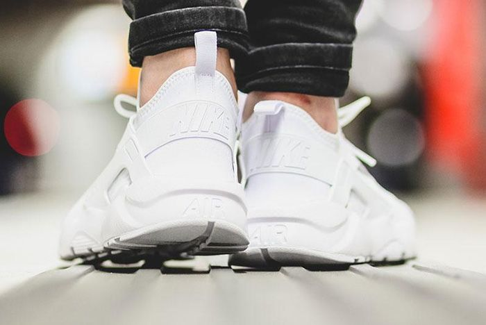 Nike Air Huarache Ultra Br Triple White 8