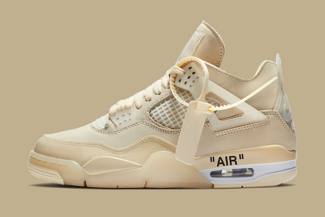 Off-White Air Jordan 4 Sail CV9388-100