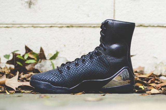 Nike Kobe 9 Krm Ext Jet Black 6