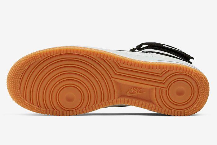 Nike Air Force 1 High White Black Gum At7653 100 Sole