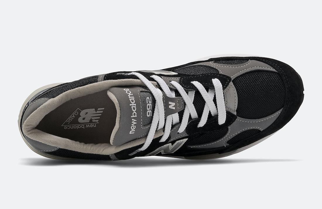 New Balance 992 Black Grey M992EB