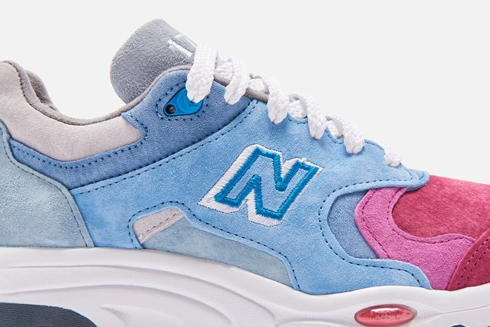 Kith X New Balance Lateral Side Close Up 2
