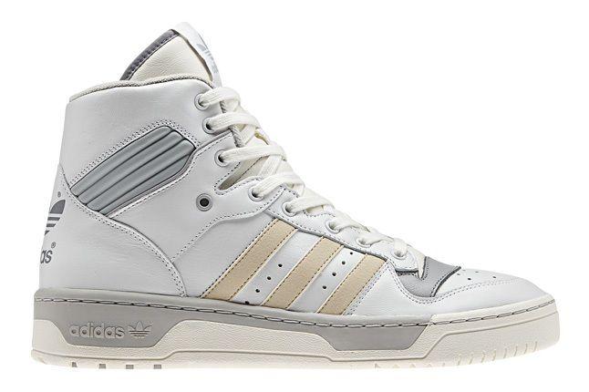 Adidas Originals Rivalry Pack Hi Wht Silver Profile 1