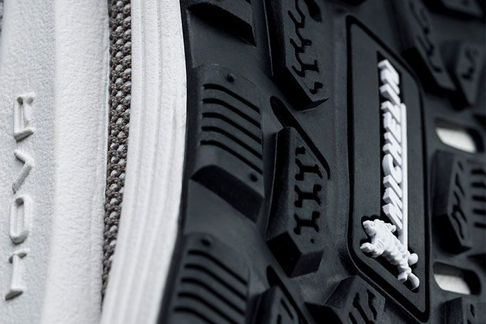 Under Armour Michelin Rubber Outsole