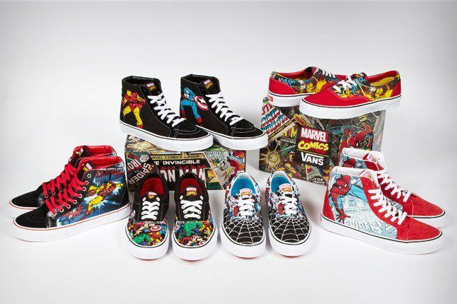 Vans Marvel Avengers Collection 1