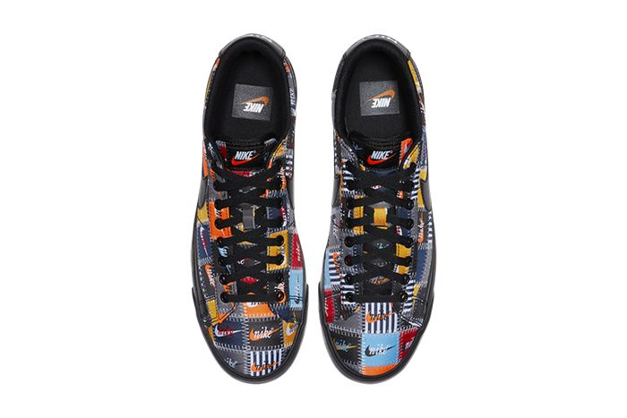 Nike Blazer Low Patchwork Ci9888 001 Release Date Top Down
