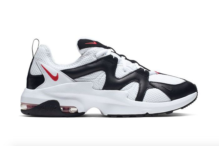 Nike Air Max Graviton At4525 100 White Black Red Release Date Side