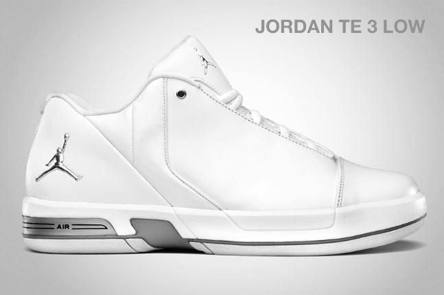 Jordan Te 3 Low White 1