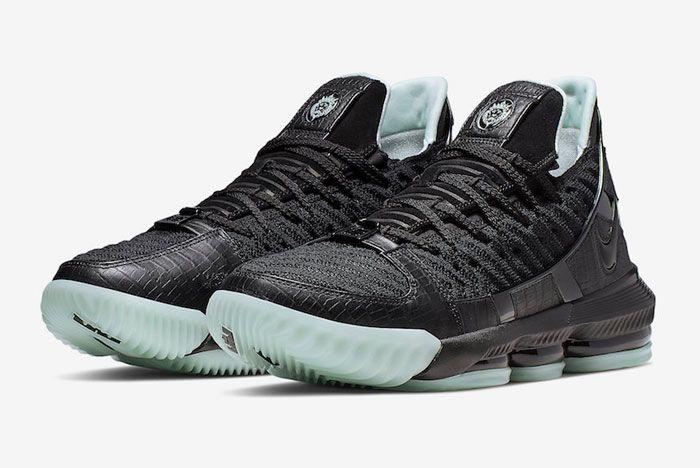 Nike Lebron 16 Glow In The Dark Toe