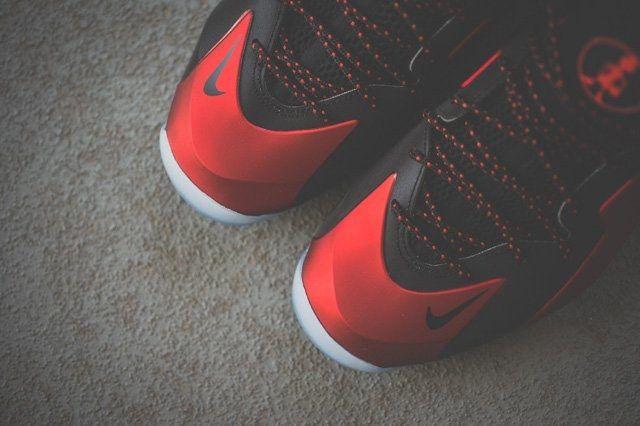 Nike Lil Lil Penny Posite University Red 2