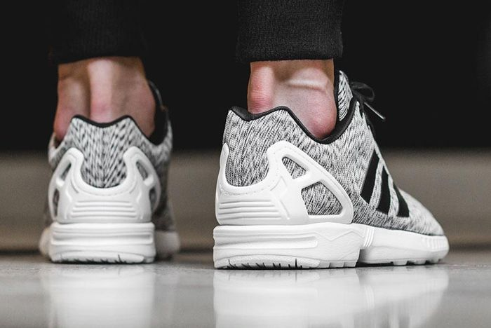 Adidas Zx Flux White Static Print 4