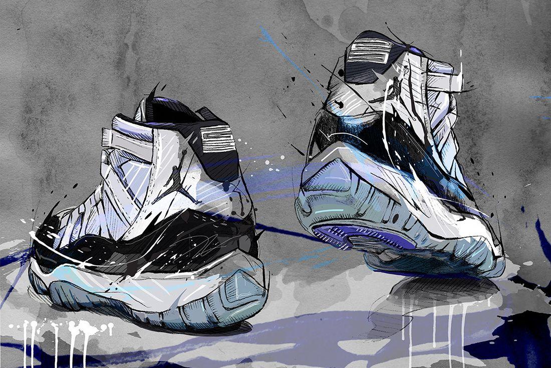 air jordan 11 artwork