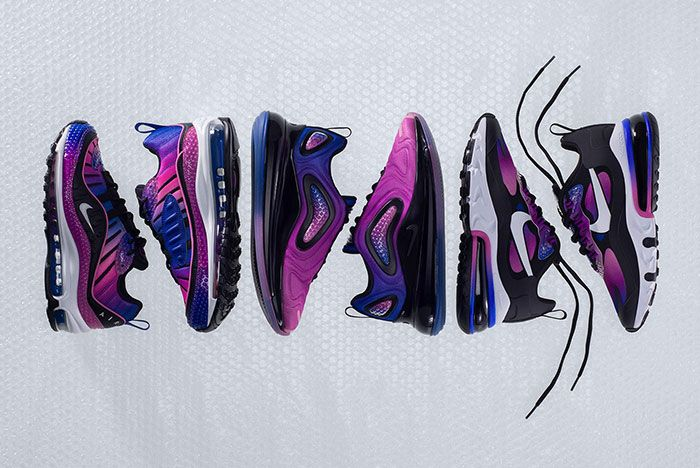 Nike Air Max Bubble Pack Purple Top Shot