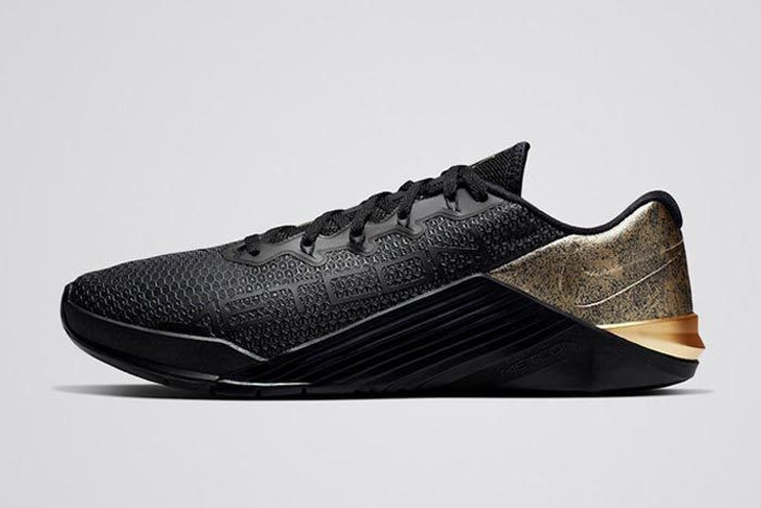 Nike Metcon 5 Medal Strong Pack Gold Mens Lateral