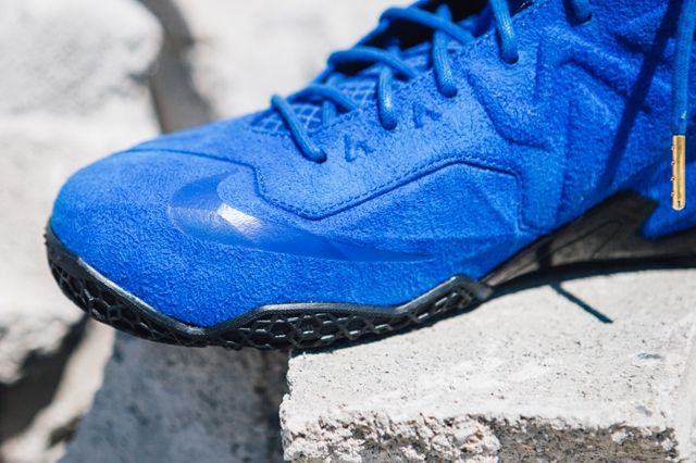 Nike Lebron 11 Ext Blue Suede 5