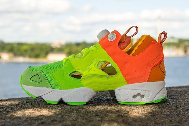 Sneakersnstuff Reebok Pump Fury Popsicle Profile