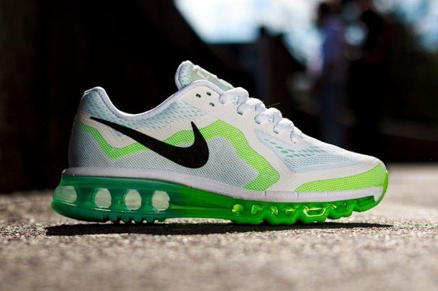 Nike Wmns Air Max 2014 White Green 3