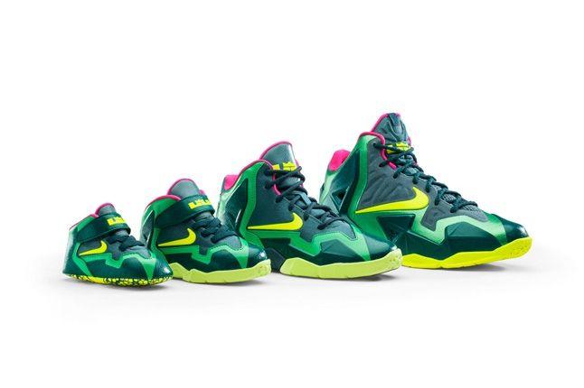 Nike Lebron 11 Kids T Rex 16