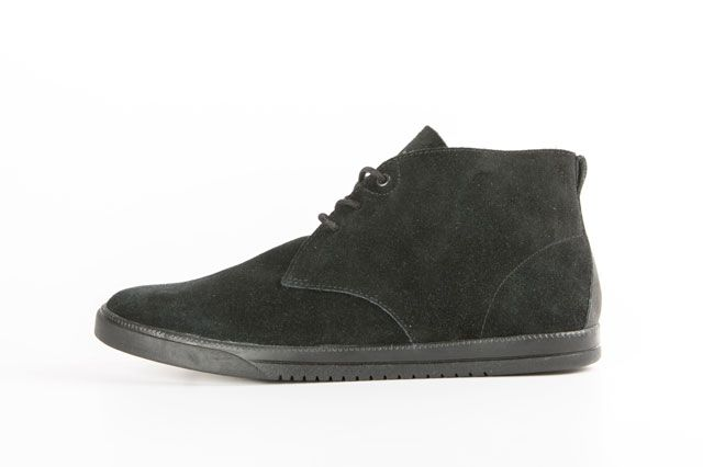 Clae Strayhorn Unlined Black Sideview