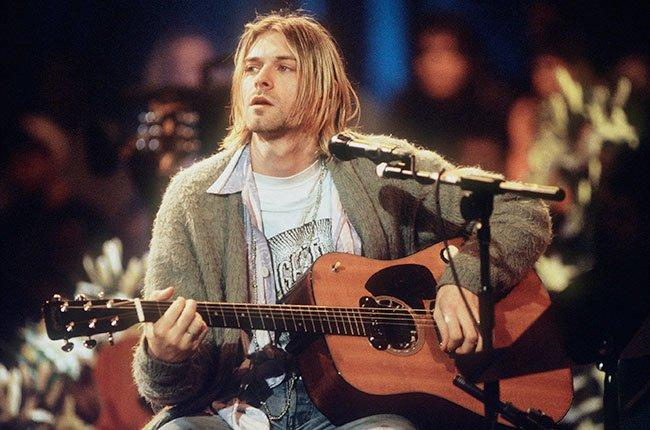 Kurt Cobain Mtv Unplugged 650