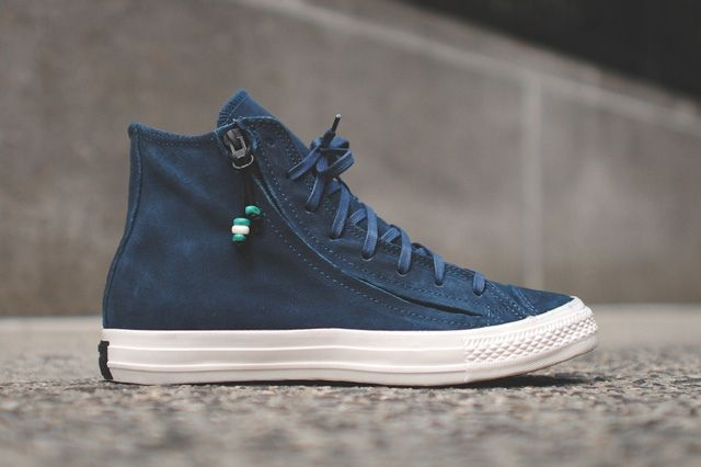 Converse Chuck Taylor All Star Zip Burnished Suede Pack 2
