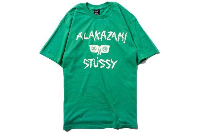 Alakazam Stussy Green Tee 1