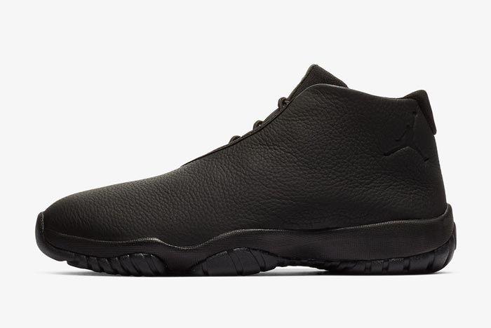 Jordan Future Triple Black Leather Lateral