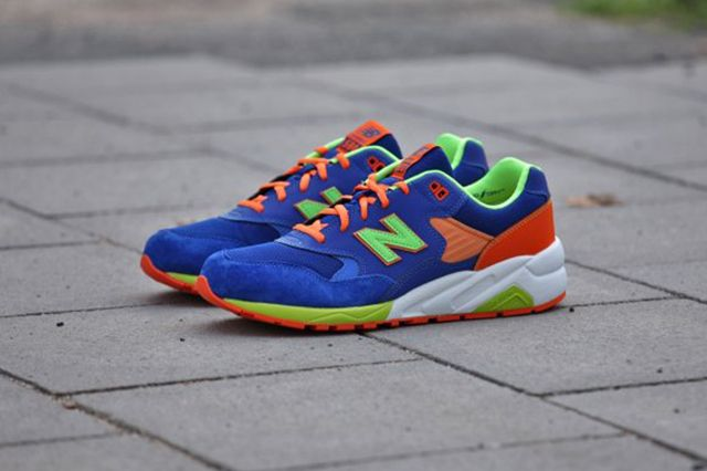 New Balance Mrt580 Bm Grey Turquoise Apple Pink 3