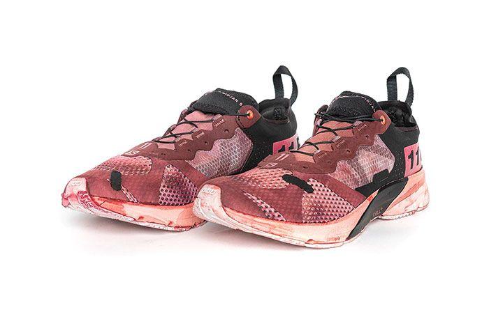 11 By Boris Bidjan Saberi X Salomon Spring Summer 2020 Footwear Red Low Thre Quarter Angle Shot
