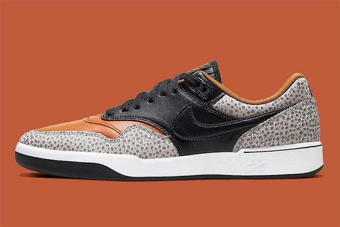 Nike Sb Gts Return Premium Safari Cv6283 001 Lateral