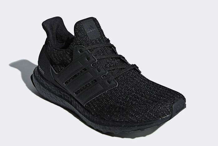 Adidas Ultra Boost Triple Black Nubuck Cage 2